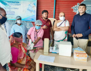Chilkur first temple in Telengana to vaccinate staff