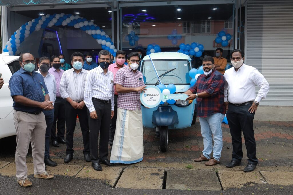 Piaggio Vehicles inaugurates Kerala's fourth-of-its-kind exclusive Electric Vehicle (EV) dealership in Cochin