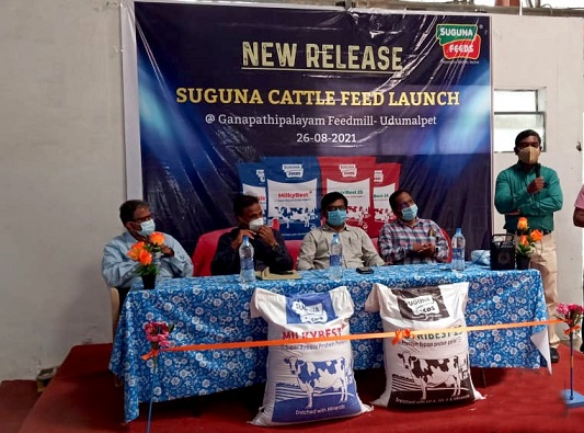 Cattle feed launch