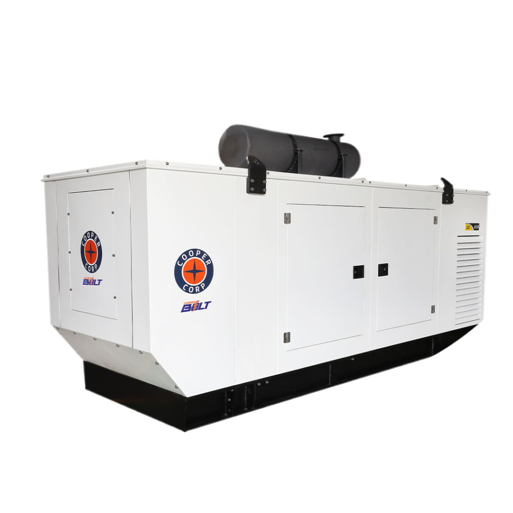Cooper Corporation - All-new MADE IN INDIA genset series ranging from 125KVA to 250KVA.