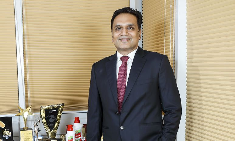 Mr. Anil Gaikwad, Business Head, Cosmo Specialty Chemicals