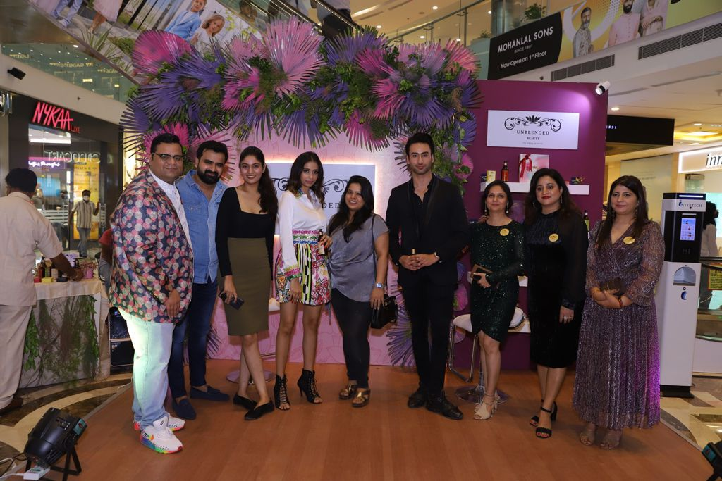 The Indian luxury brand UNBLENDED launches its premium beauty and wellness range
