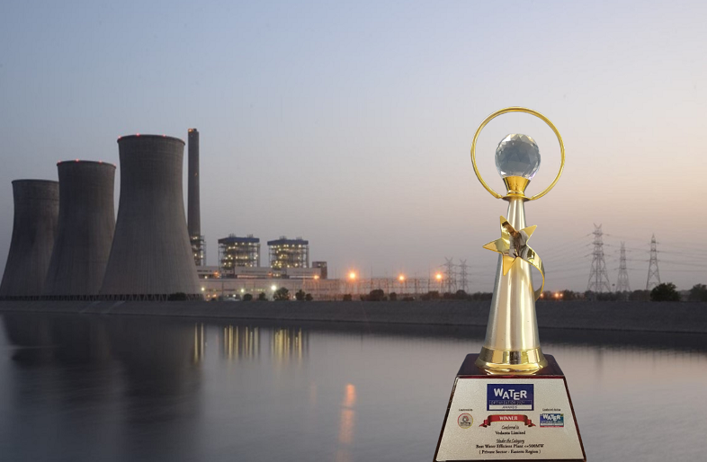 Vedanta Jharsuguda Power Plants awarded as Best Water-Efficient Plants