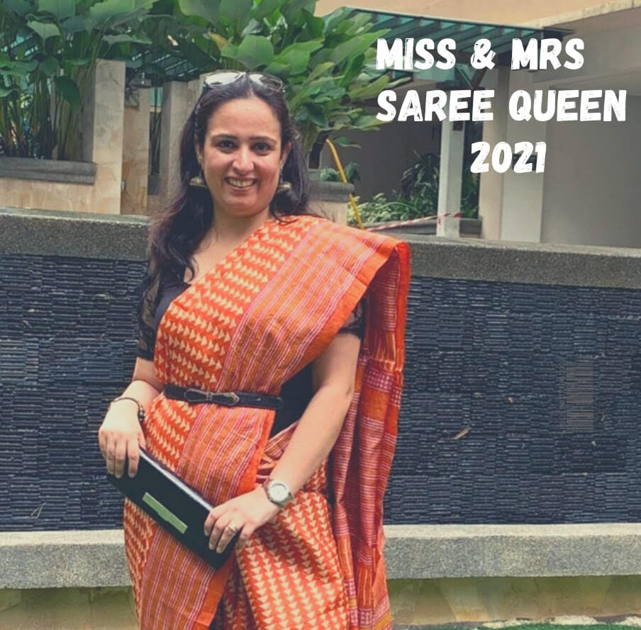 Indian Home maker Saloni Anand makes it to Grand Finale of Miss & Mrs Saree Queen 2021