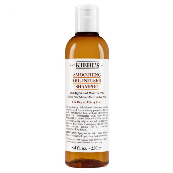 The mane is one of the crowning glories and to groom it in the best way possible it is essential to cleanse it in the correct way. Kiehl's has a selected range of ingredients that would be a definite go to for styling your hair right for every day of the week. Smoothing Oil-Infused Shampoo Product Details: Smooth and nourish dry and frizzy hair with Kiehl's shampoo with Argan Oil and Babassu Oil. With a rich gel texture, this oil-infused formula helps cleanse hair and smooth frizz for manageable, supple, shiny hair. Nurture and cleanse while enveloping hair in a warm, woodsy aroma with our smoothing shampoo for frizzy hair. It gently cleanses without stripping hair of natural oils and helps smooth the hair cuticle and tame frizz for supple, shiny hair. This shampoo has been formulated with Argan Oil and Babassu Oil extracted from a Brazilian palm tree. It calms frizz and smooth hair when used as a regimen with our smoothing conditioner and leave-in treatment for frizzy hair. It is suitable for dry or frizzy hair as it smoothens and has a frizz-calming effect when used as a regimen of shampoo, conditioner and leave-in concentrate. Product Price: Rs.2,100 Amino Acid Shampoo Efficiently cleanse your hair with our mild shampoo that softens and smoothens them. This gentle shampoo is enriched with Coconut Oil and Amino Acids, effectively leaving them with a fuller and shinier appearance. Product Price: Rs.1,800 Rice And Wheat Volumizing Shampoo This lightweight shampoo is made from a beautiful blend of naturally-derived proteins and poly-sugar to revive and add luster to thin and lifeless hair. Kiehl's chemists have employed the latest hair care science-a volumizing complex that coats the hair to impart a healthy, thicker appearance and vitality. Then combined with the long relied upon benefits of Rice and Wheat Proteins, which enhance the fullness and body of hair without stripping them of natural lipids. Further added to it are Pure Honey and conditioning extracts of Jo