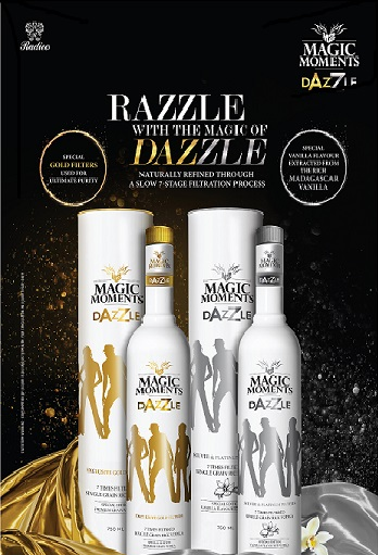 Radico's most awaited brands Magic Moments Dazzle Vodka and Royal Ranthambore Heritage Collection-Royal Crafted Whisky unveiled in line with its Premiumisation Strategy